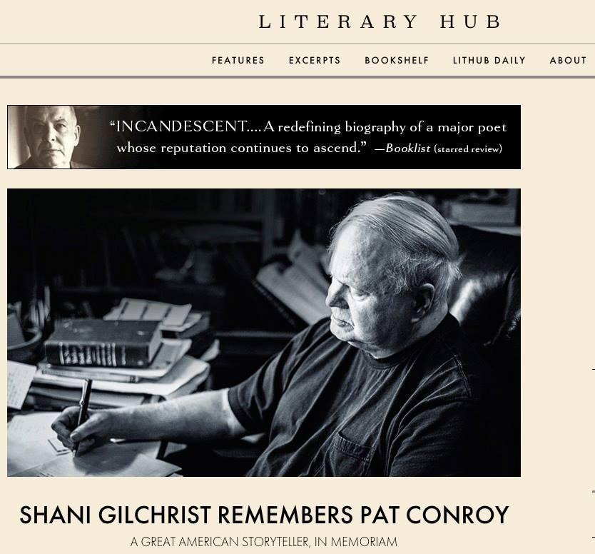 """Shani Gilchrist Remembers Pat Conroy"" - Literary Hub"