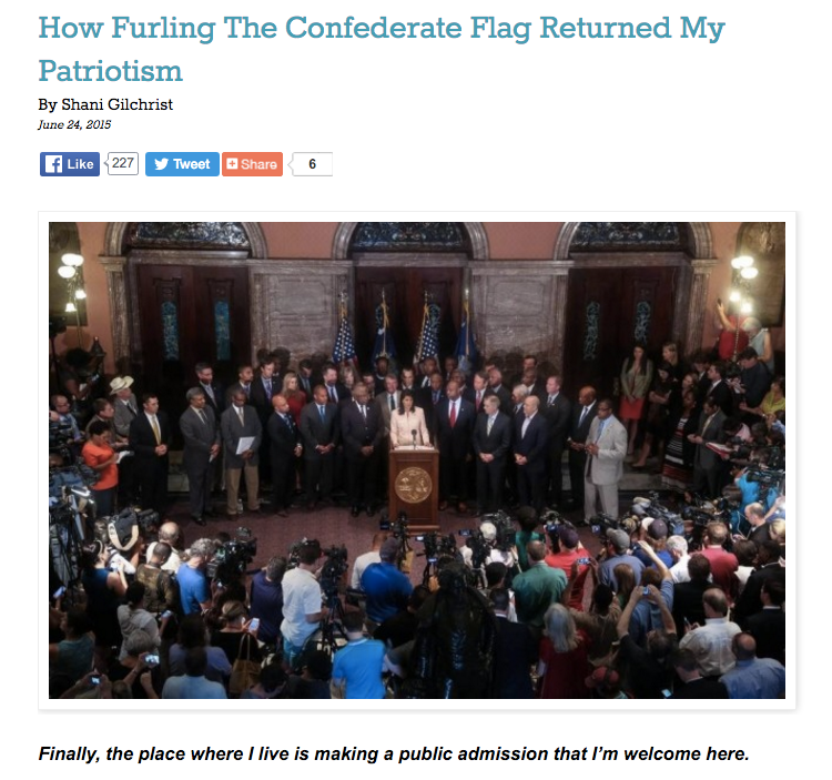 """How Furling the Confederate Flag Returned My Patriotism"" - Role Reboot"