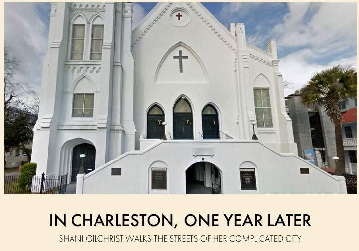 "Literary Hub - ""In Charleston, One year Later"" June 17, 2016"