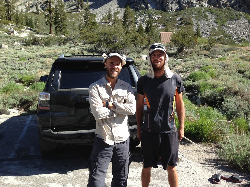PCT June: Grandpa and Stranger