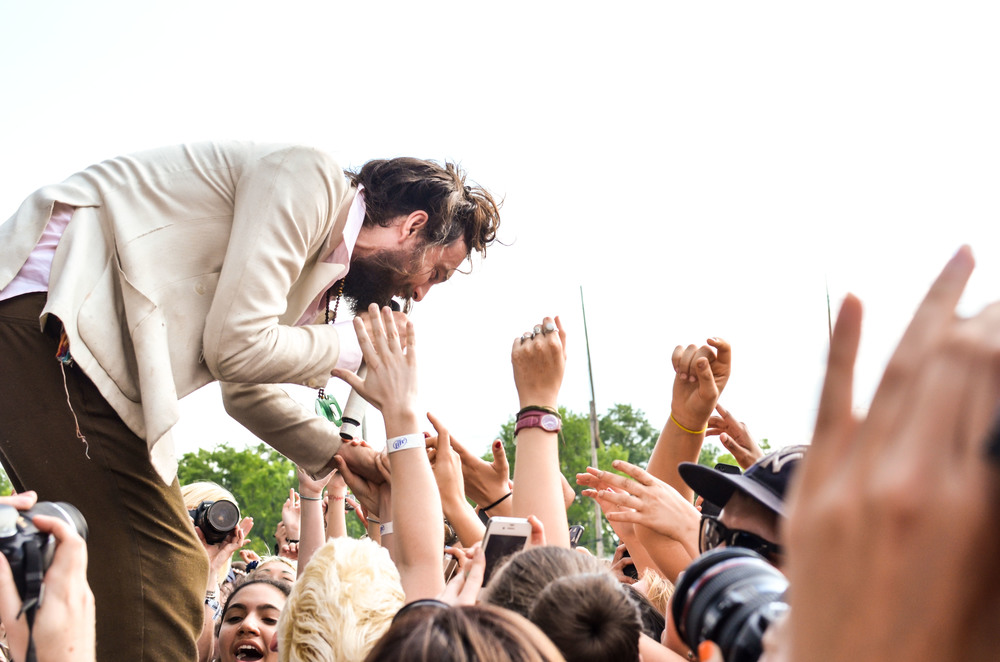 Edward Sharpe At Governors Ball 2013