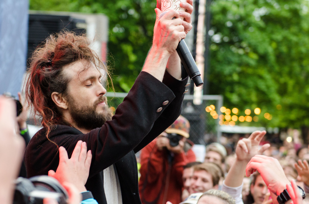 Edward Sharpe at Boston Calling 2014