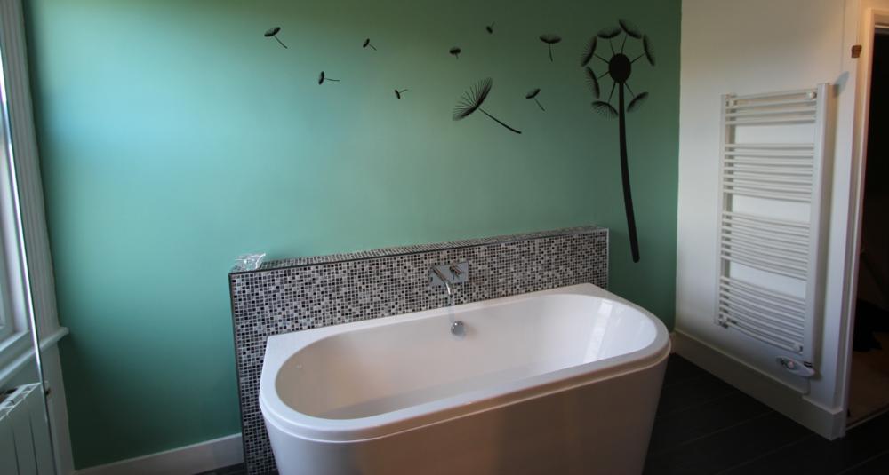 Bath and tiles