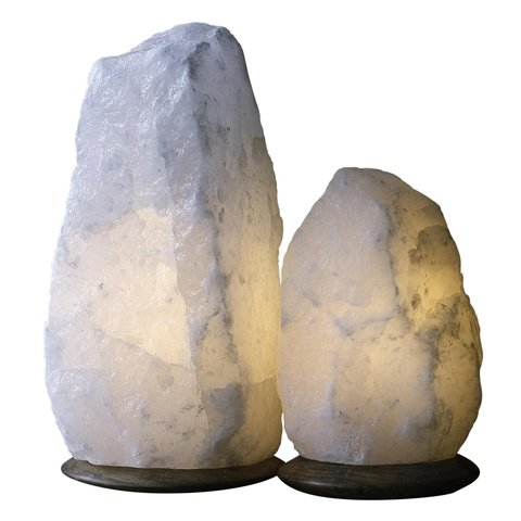 Fair Trade Himalayan Crystal Salt Lamps by  Ahalife