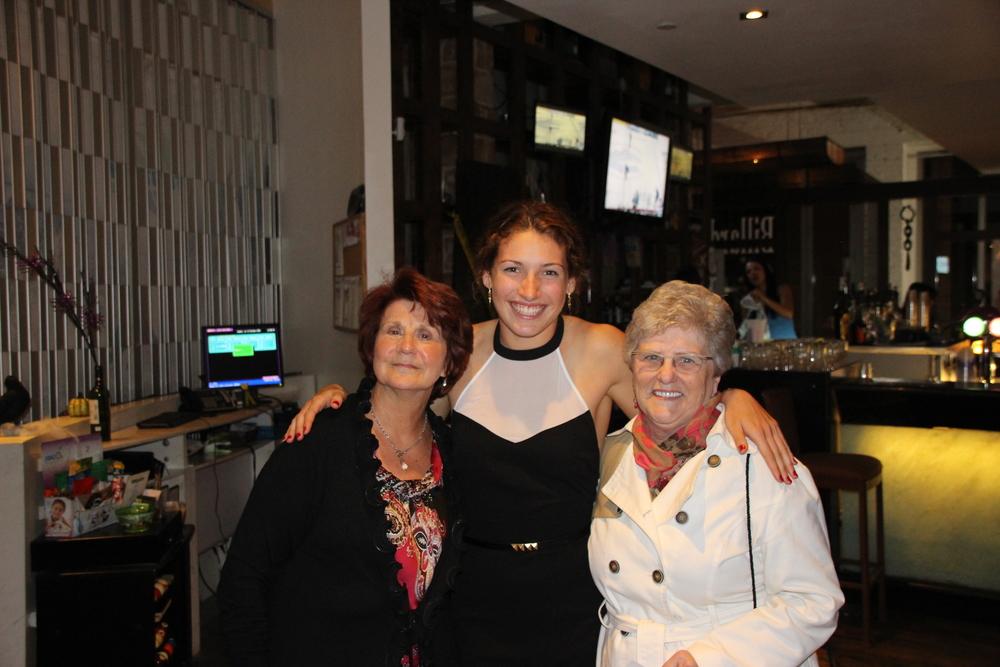 Même mes deux grands- mamans y étaient!