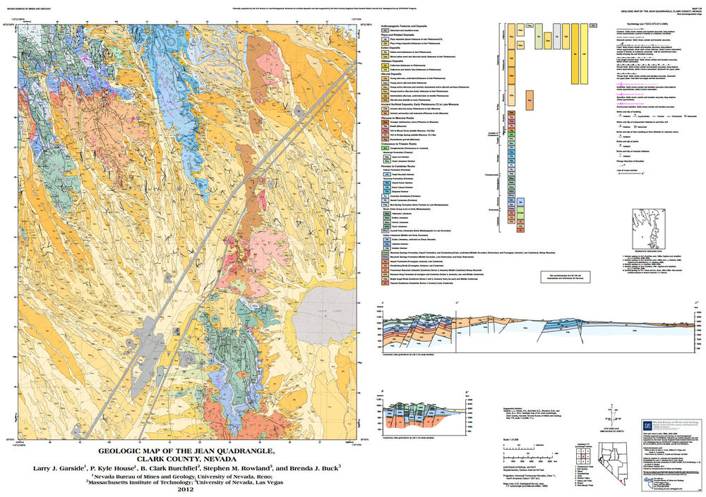 I failed to mention this on my neglected blog. Pretty psyched to have a peer-reviewed geologic map co-authored with B.C. Burchfiel. This was officially released on National Geologic Map Day. http://www.nbmg.unr.edu/dox/m176.pdf