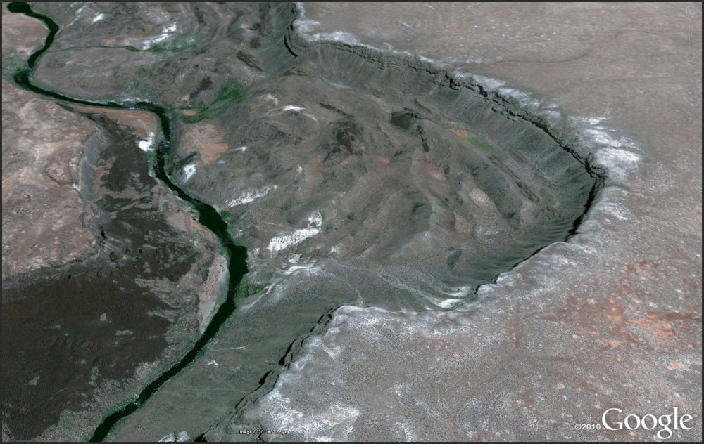 Practically done with the map and Google finally gets some high-res  imagery of part of the Owyhee. Oh well.
