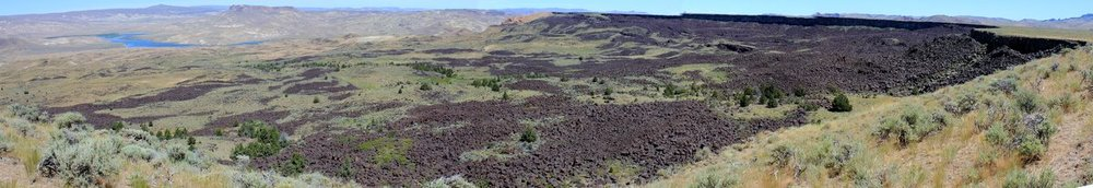 Ultra-gargantuan Black Rocks landslide, Owyhee River, OR