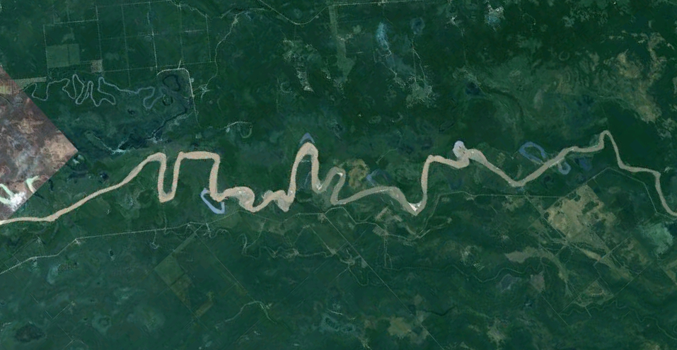 The River That Looks Like a Signature