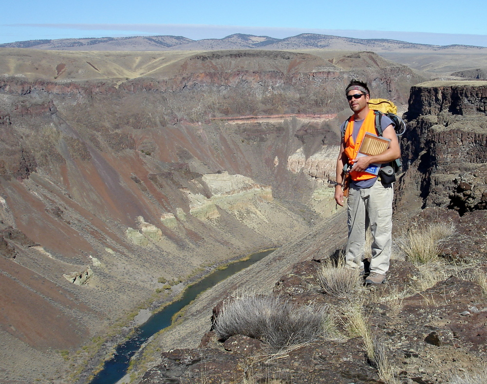 On the Brink of the Owyhee River