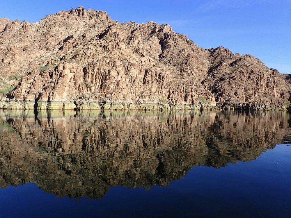 Colorado River in Black Canyon, Arizona and Nevada