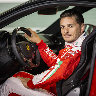 Copy of Fisichella in the drivers seat