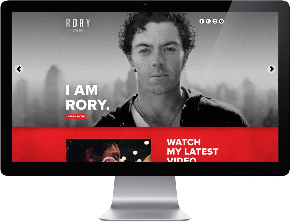 Rory McIlroy Web