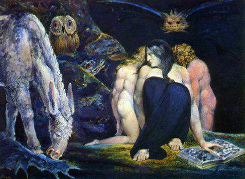 Hekate av William Blake, 1795
