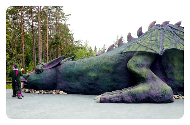 Trolska skogen, draken drakzo