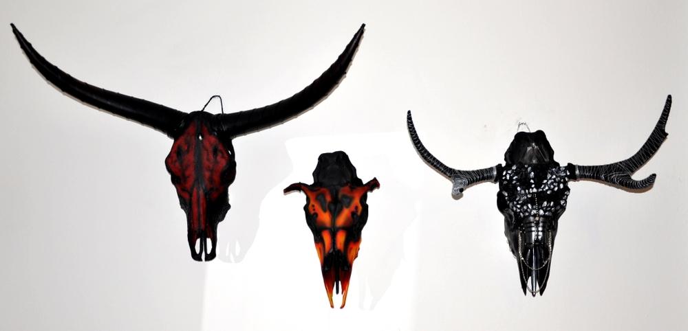 Skull art by Petra Shara Stoor