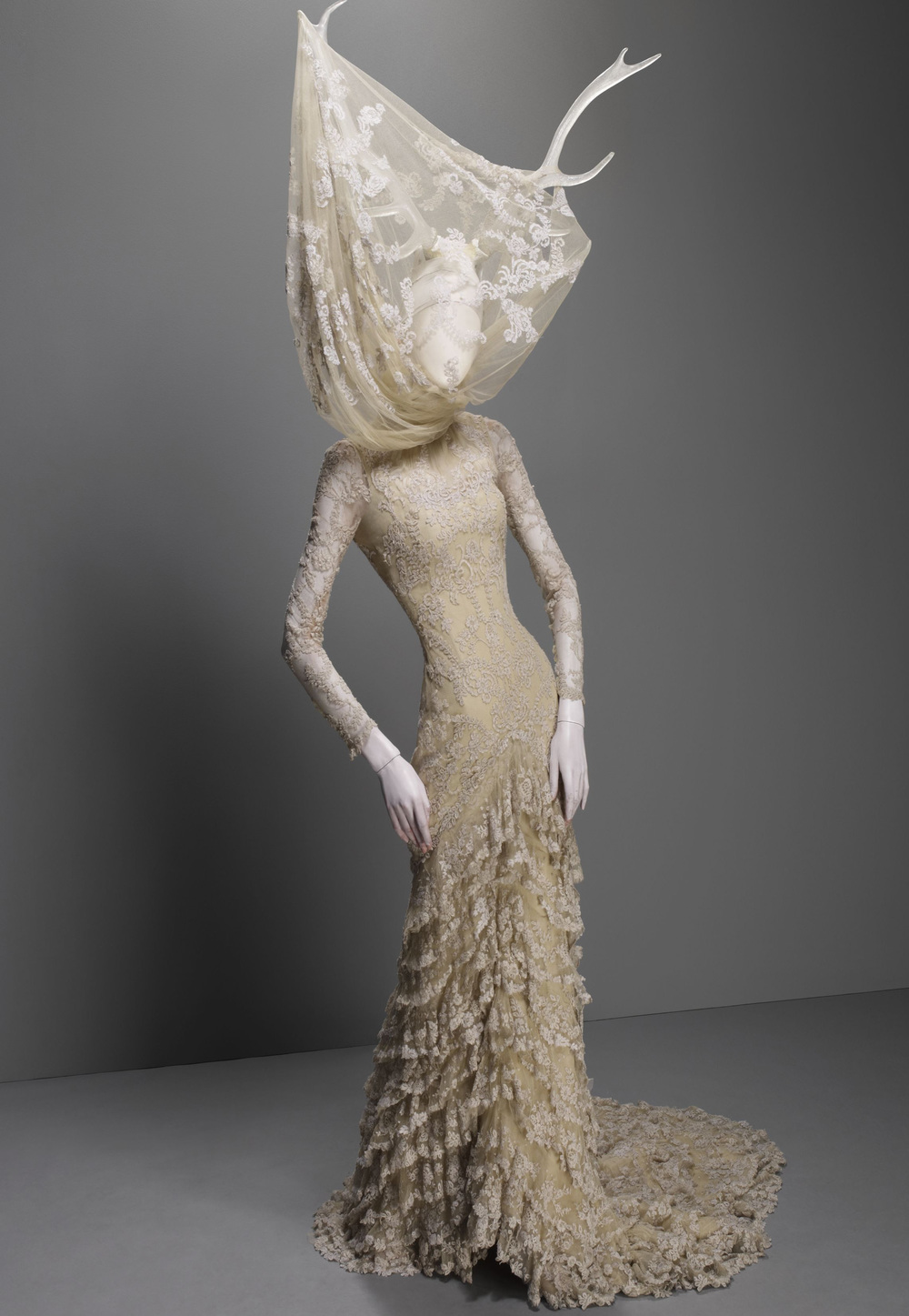 Fabulous creation by the grand designer Alexander McQueen