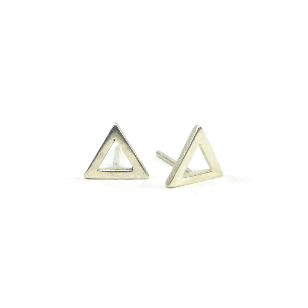 17ee444e3 Flat Triangle Studs — Sofia Ramsay