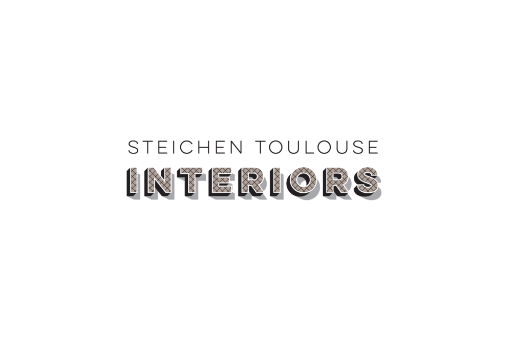 Steichen Toulouse Interiors: logo for interior design consultancy in Paris, France