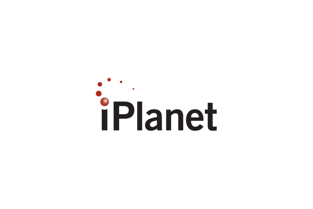 iPlanet: logo for an enterprise software company in Santa Clara, CA