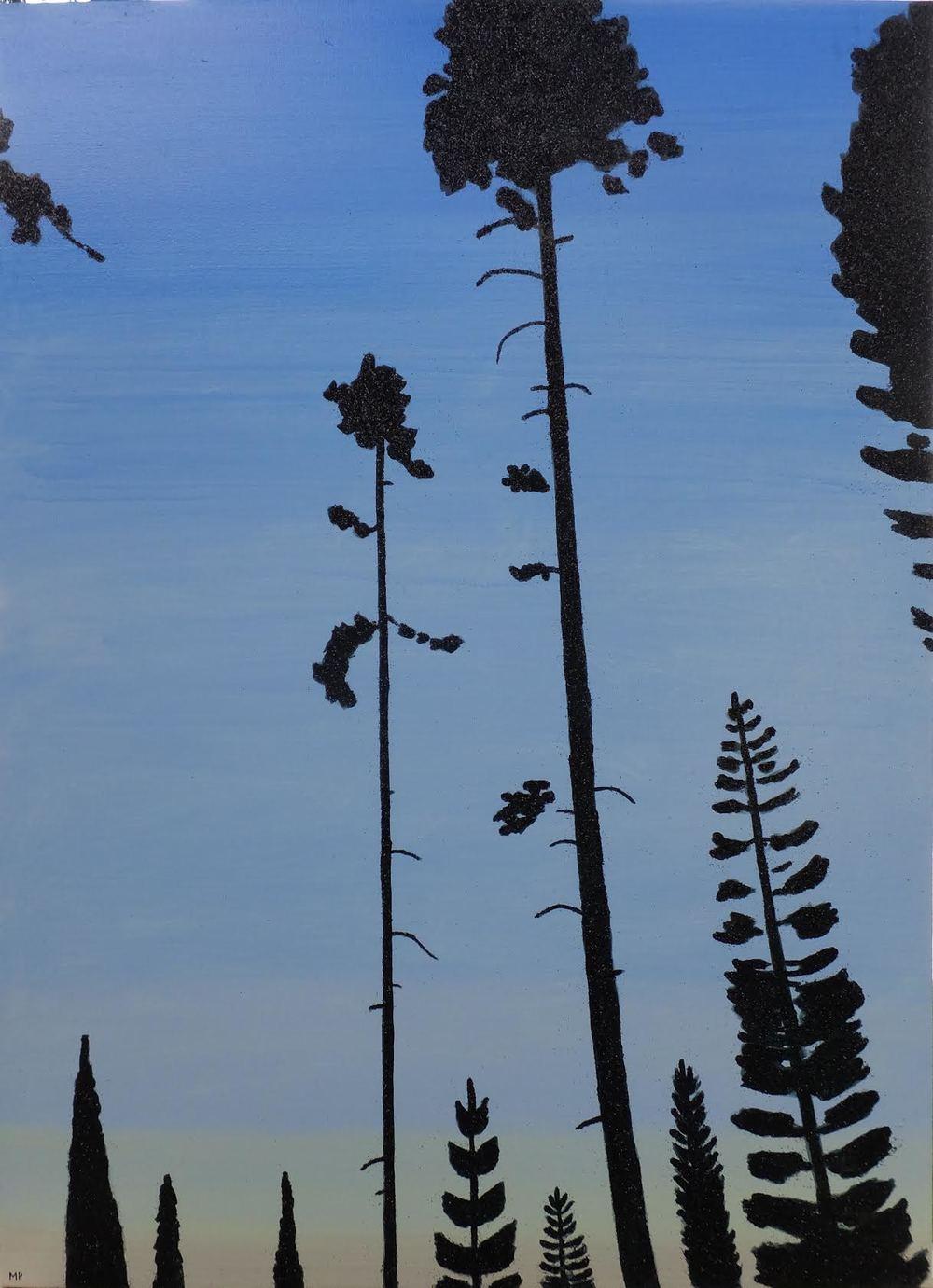Glitter Pines