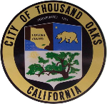 The seal of the great family oriented city of Thousand Oaks.  The city has been voted one of the best places to live in magazines and has long been recognized as one of the safest cities in the country.