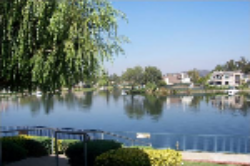 Picture of beautiful Westlake in Westlake Village, California.