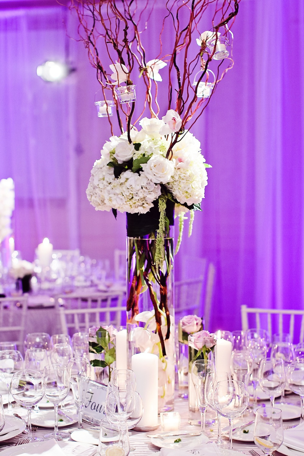 summer decor country purple club event greenacres elegant floor reception room receptions