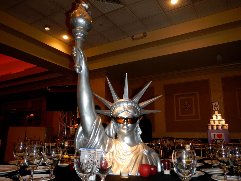 Our Statue of Liberty bust statue is always a hit.