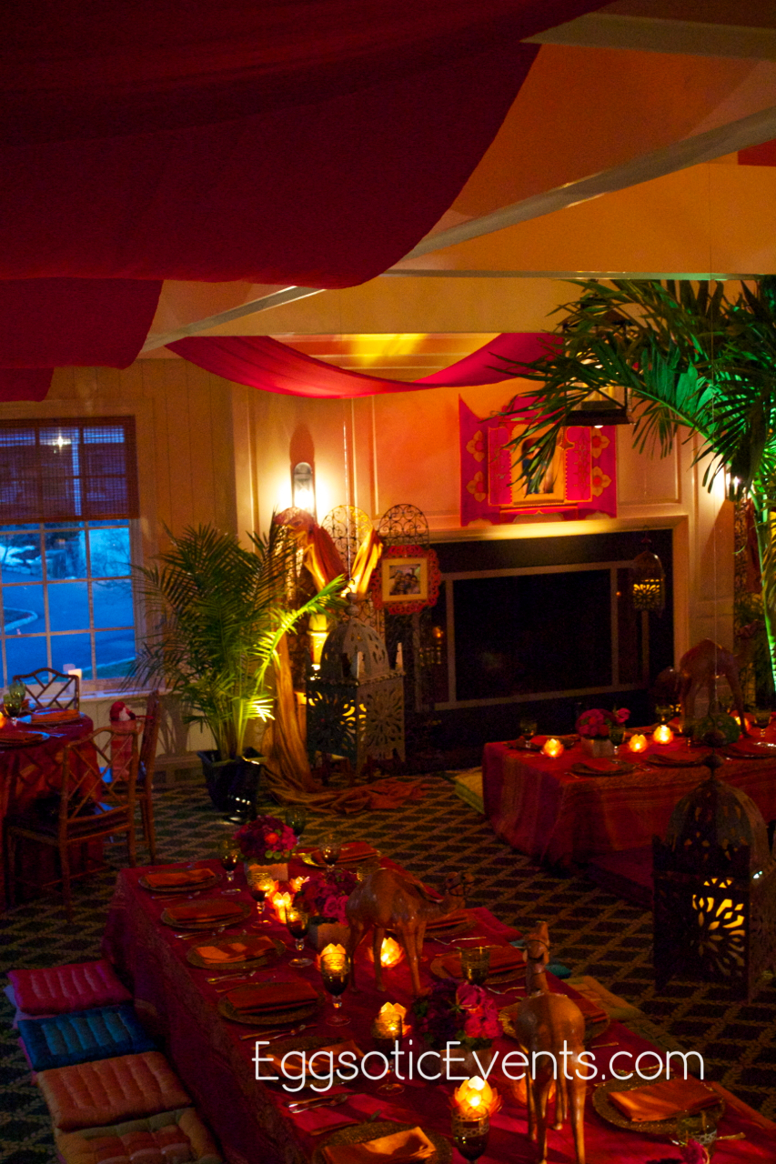 Moroccan decor at bedens brook club skillman new jersey for Accents decoration
