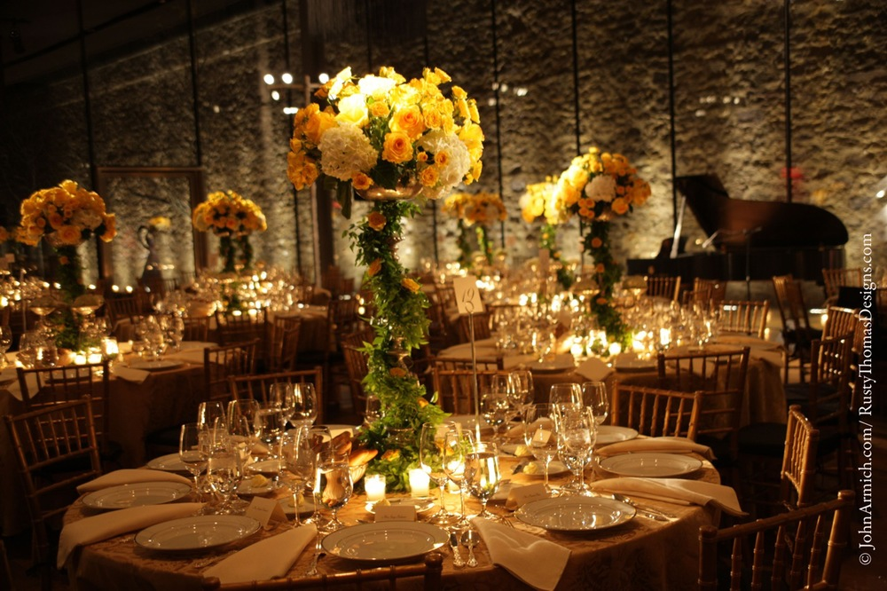 Photography by John Armich • Floral Design by Rusty Thomas Event Designs • Lighting by Eggsotic Events