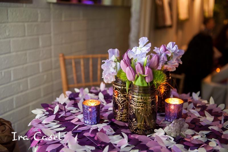 Eggsotic Events NJ NYC Event Design Luxury Bat Mitzvah Stone House at Stirling Ridge Warren NJ Gemstones Birch Organic Art Nature Theme Decor and Lighting 24.jpg