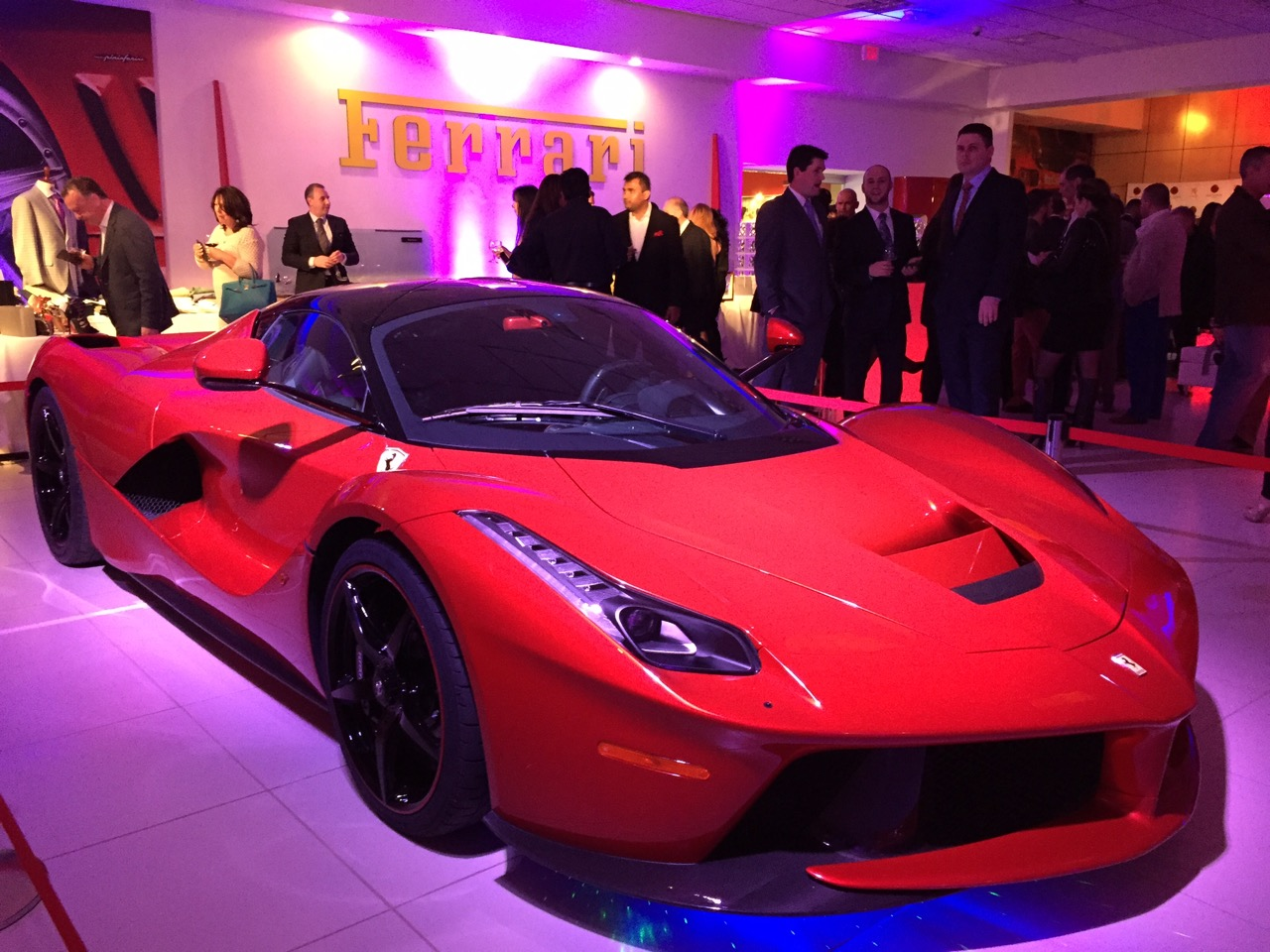 VIP Fashion Show Fundraiser Lighting Ferrari Of Central New Jersey - Car show nj
