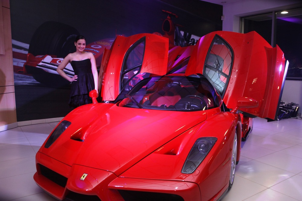 Ferrari Enzo • Lighting by Eggsotic Events • Photo by Ryan Grant