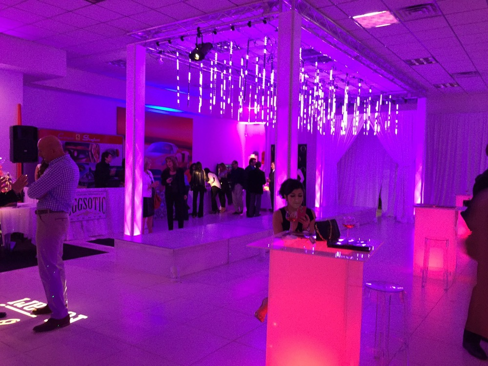 Lighting by Eggsotic Events • Photo by Josh Casto