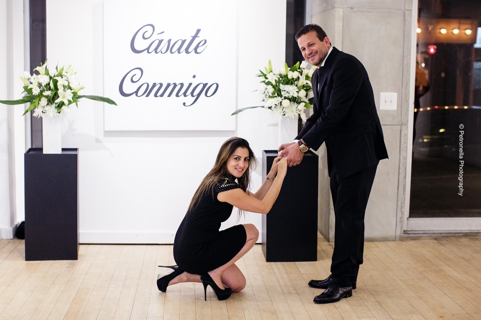 Marriage Proposal Decor by Eggsotic Events NYC Art Gallery Muriel Guepin Flowers Floral Decor Will You Marry Me Custom Artwork Surprise Marriage Proposal Eggsotic Events Event Decor NJ NYC 75.jpg