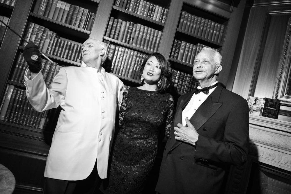Taken at a private James Bond-themed dinner at the Jefferson Hotel, 2014 (Kate Warren for The Washington Post).
