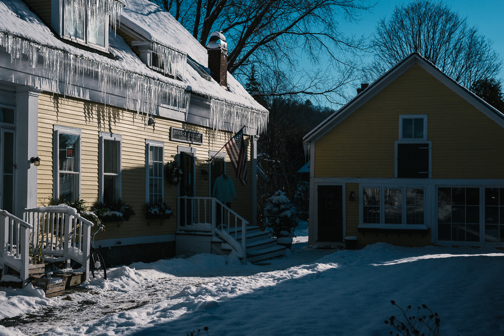 Architecture in picturesque Stowe Village is one of the draws for the classic Vermont town.