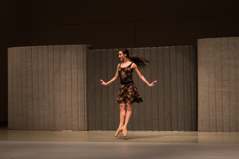 Washington Ballet's Francesca Dugarte performs with Chamber Dance Project at their 2015 season benefit on February 28.