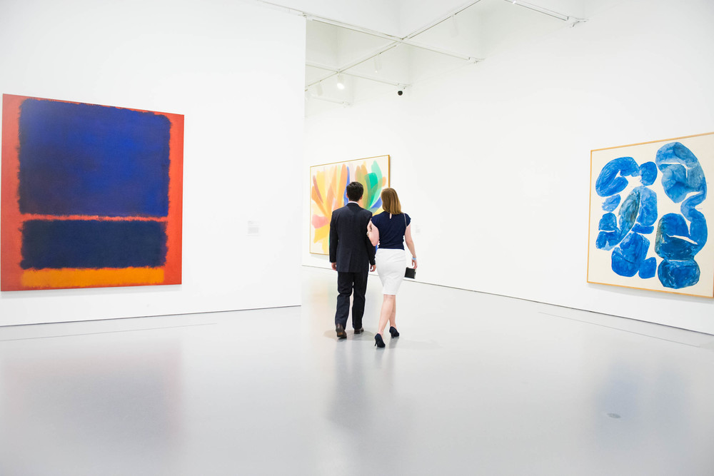 The permanent collection at the Hirshhorn