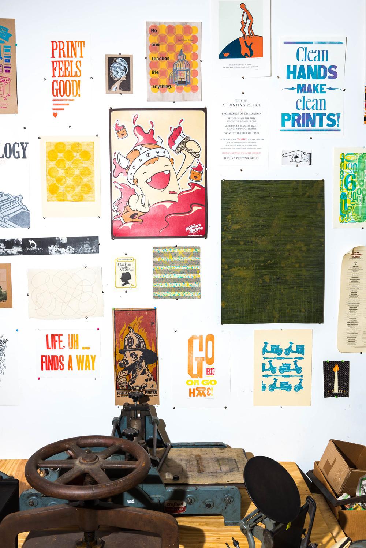 Typecase Industries  letterpress studio