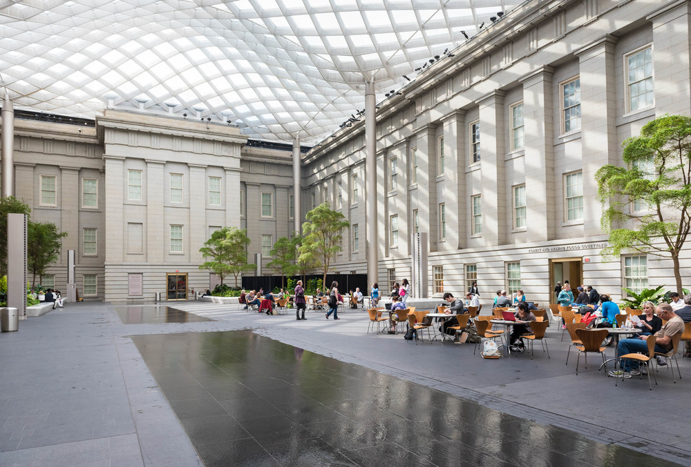 Kogod Courtyard at the National Portrait Gallery