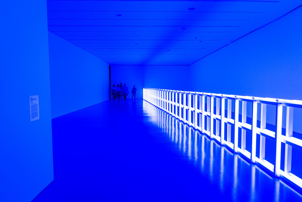 Dan Flavin's 'Untitled' at the Hirshhorn