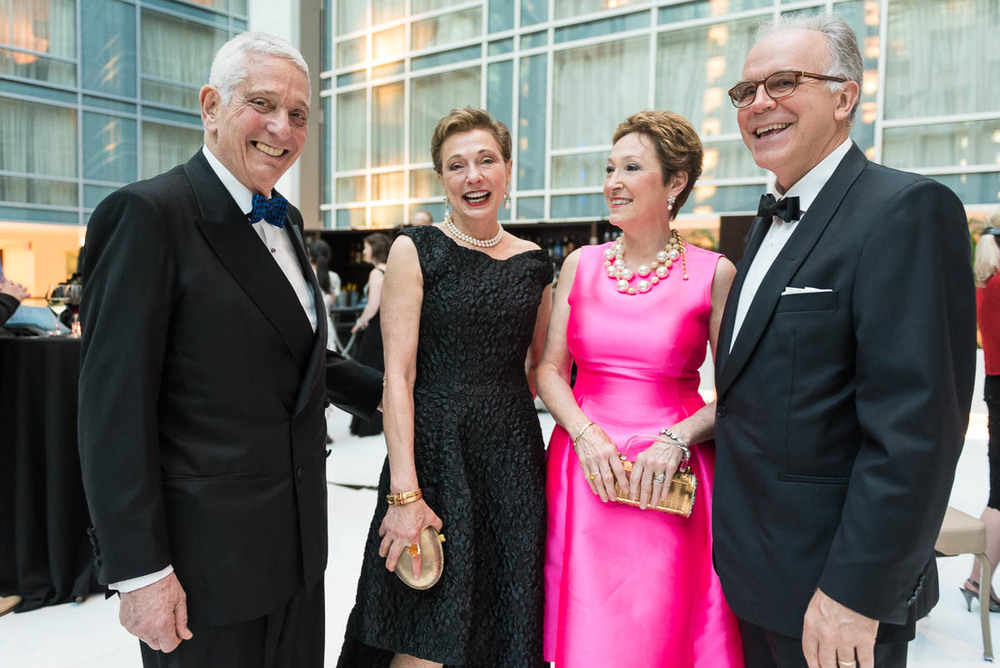 Jon and Donna Gerstenfeld of NYC and Erica and Lark Mason (from left) at the May 2 Washington Performing Arts Gala. Lark Mason is one of the country's foremost Chinese art experts and is frequently consulted on the popular television show Antique Roadshow.