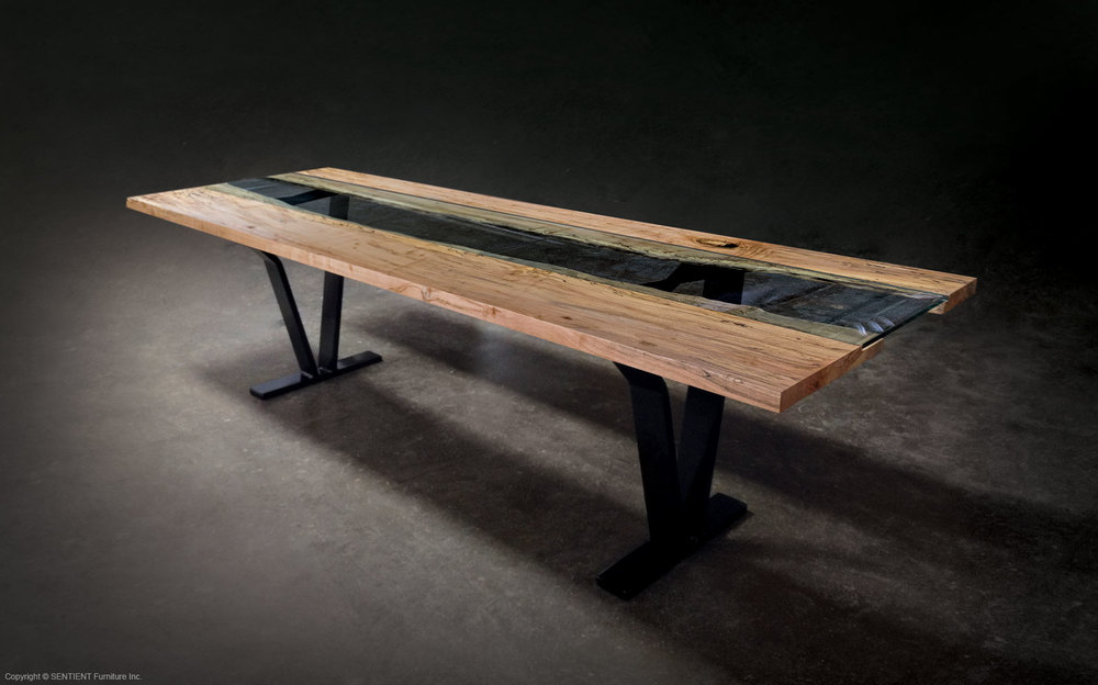 Colorado Live-Edge Dinning Table