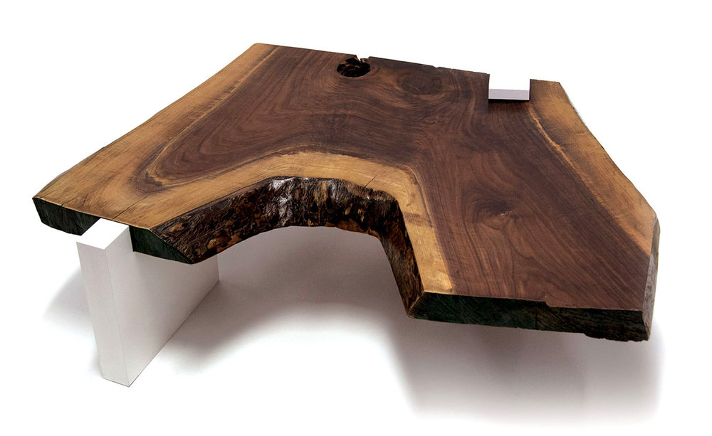 SENTIENT Walnut Live Edge Coffee Table