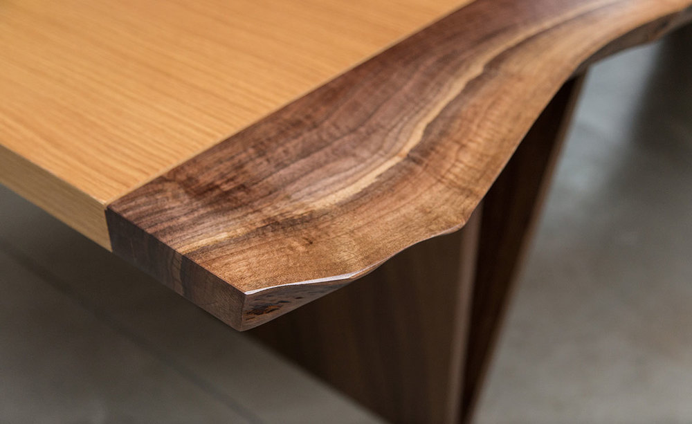 Shapes Live Edge Dining Table SENTIENT Made in Brooklyn : ShapesLiveedgeDiningTableSentientNewYork10 from www.sentientfurniture.com size 1000 x 613 jpeg 79kB