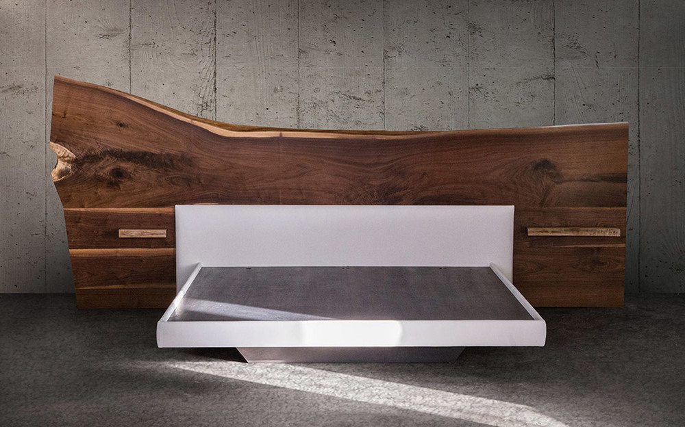 SENTIENT Live-Edge Bed