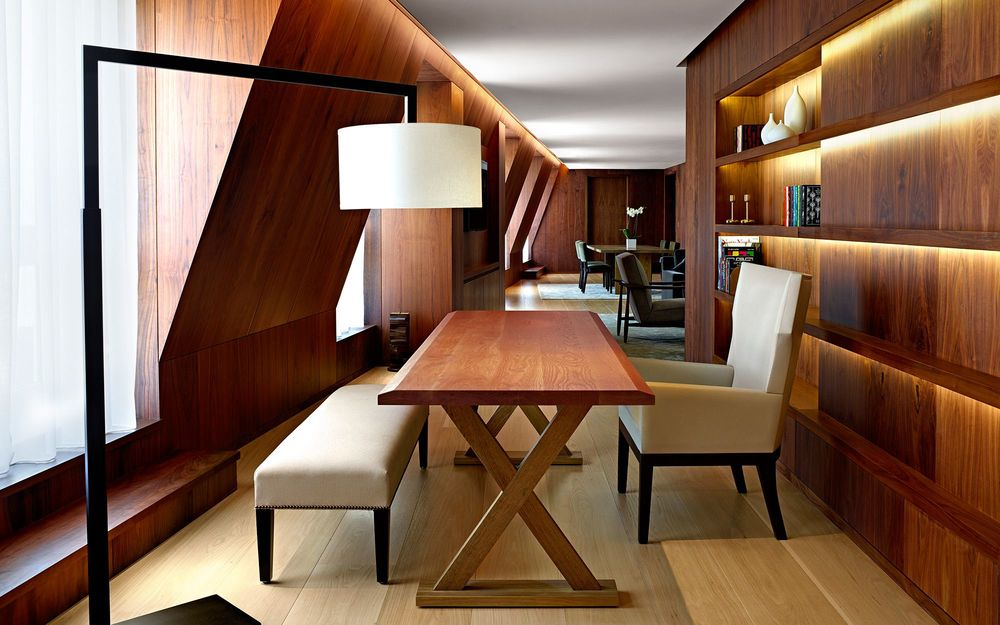 Desk at Edition Hotel London by Sentient Furniture