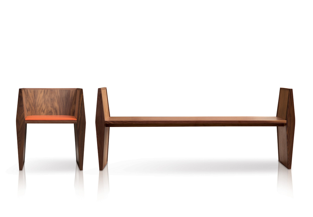 Sapience Chair and Bench